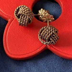 Vintage Tiffany & Co. Twist Knot Earrings